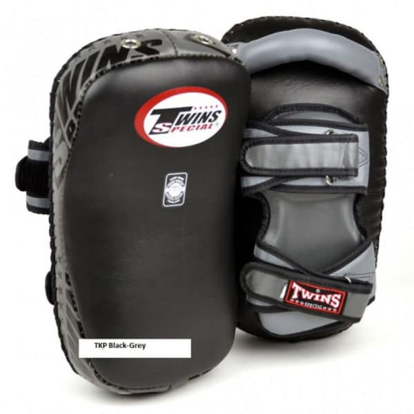 Twins Curved Muay Thai Pad Grijs